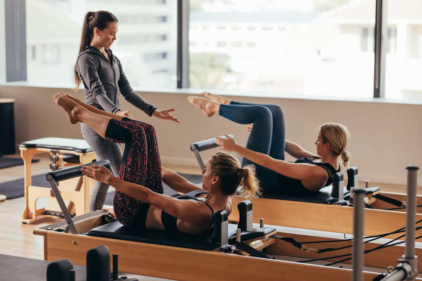 Semi-Private Pilates HACKENSACK UMC FITNESS & WELLNESS POWERED BY THE GIANTS
