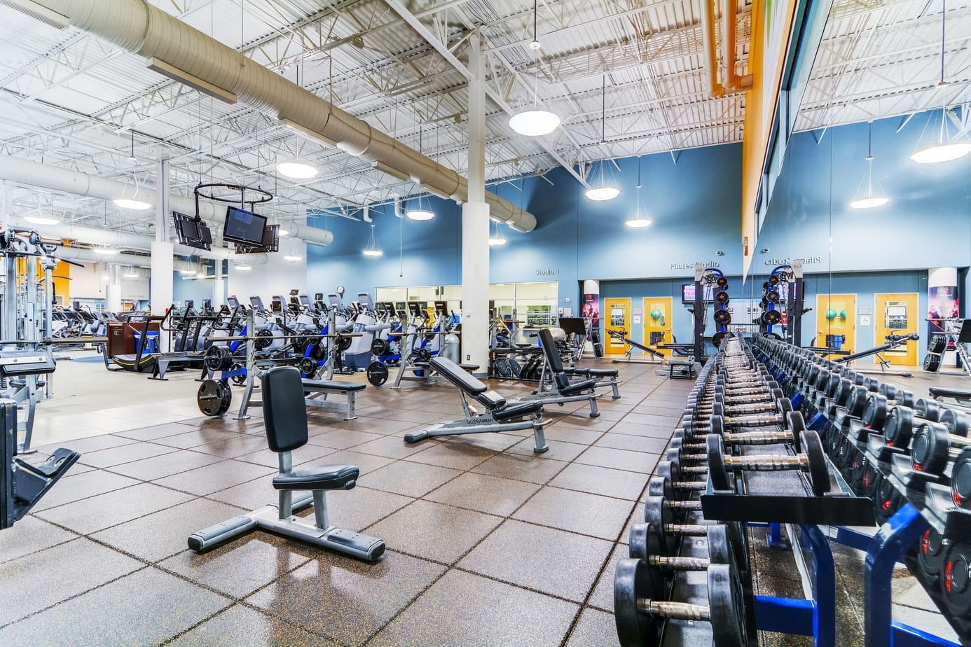 Free Weight Area - CENTRASTATE FITNESS & WELLNESS