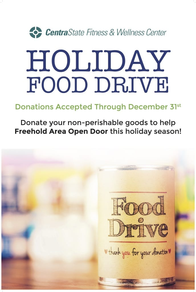 Freehold Holiday Food Drive 2014