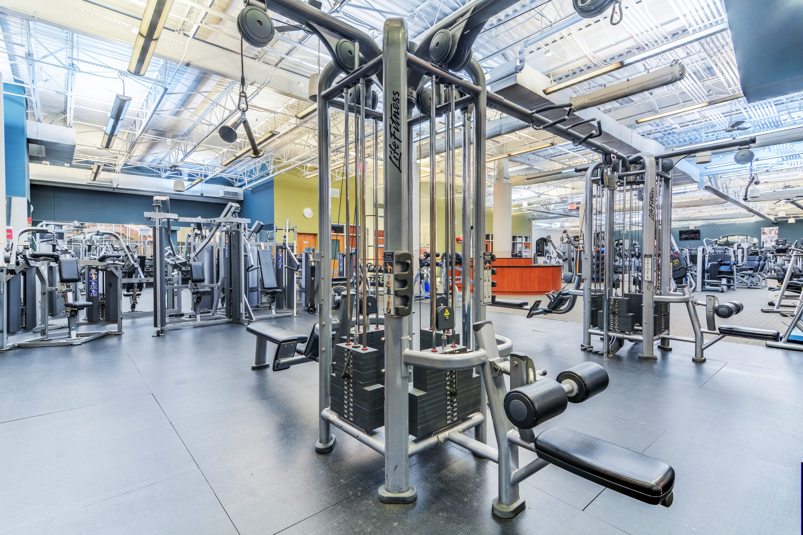 Fitness Floor- RWJ RAHWAY FITNESS & WELLNESS AT CARTERET