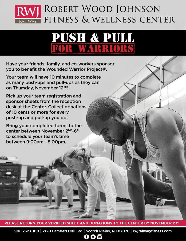 Pull Pull Warriors 2015 RWJ Rahway Fitness & Wellness Center