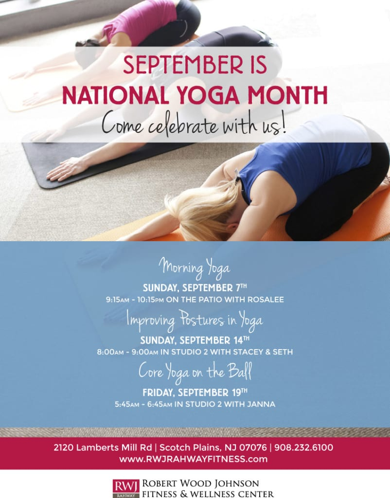 September is National Yoga Month!