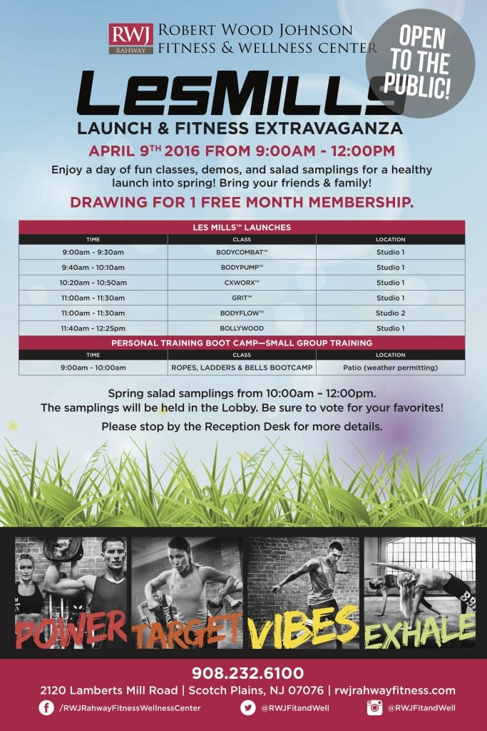 Rahway Les Mills Launch
