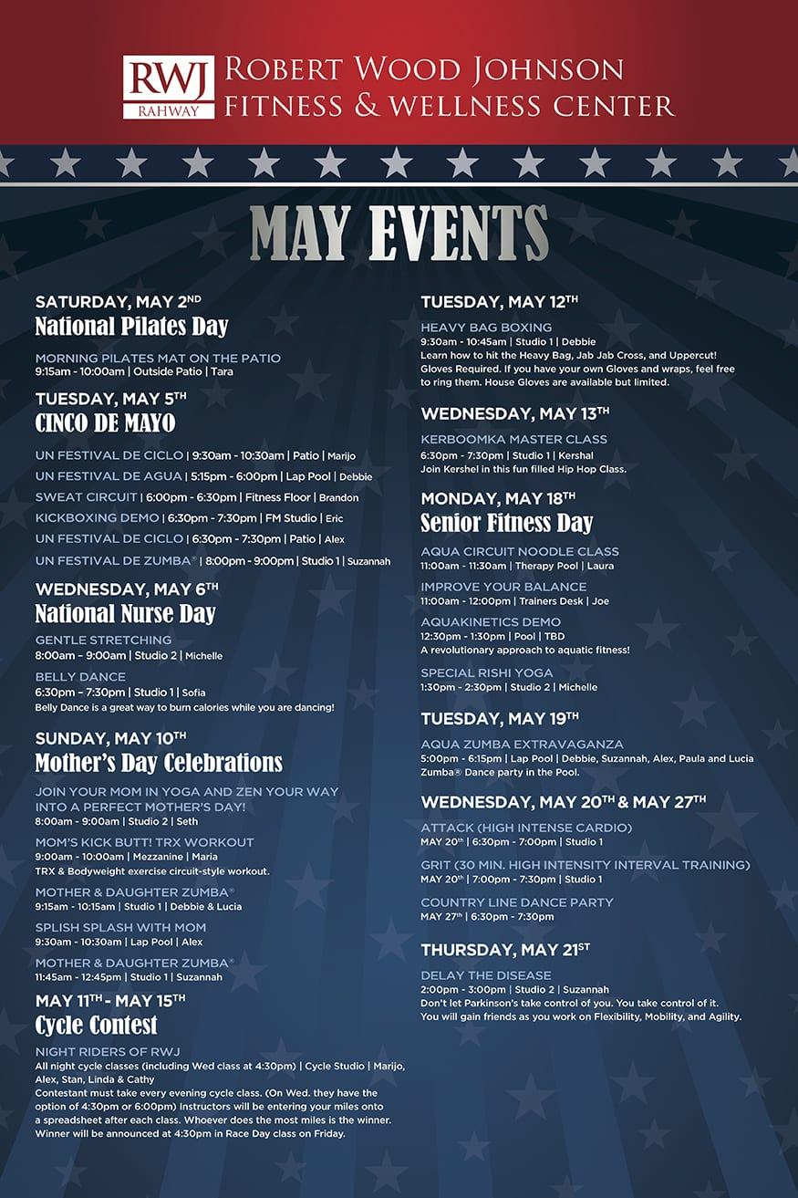 Scotch Plains May 2015 Events