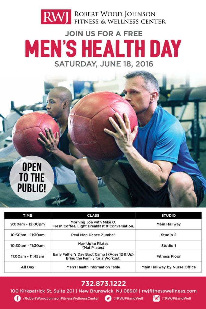 New Brunswick Men's Health Day June 18 2016