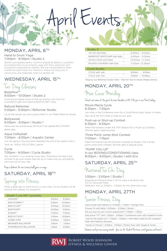 Old Bridge April 2015 Events