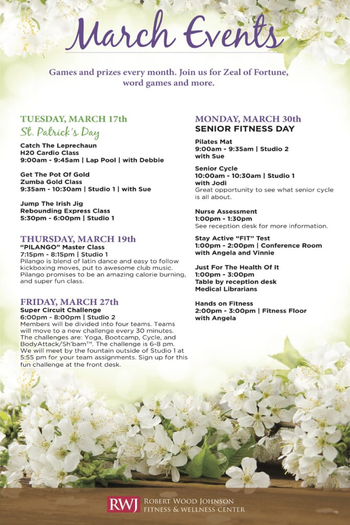 Old Bridge March 2015 Events