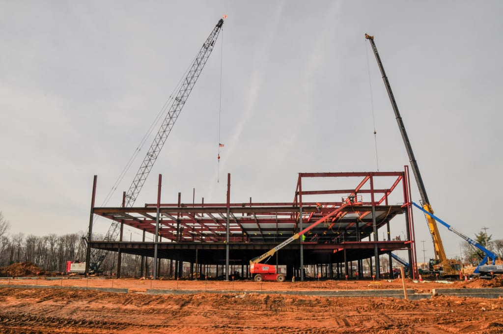 Construction Update (January 16, 2016)