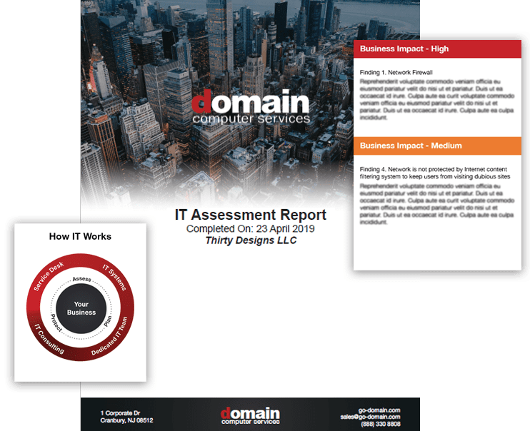 IT Assessment by DOmain Computer Services