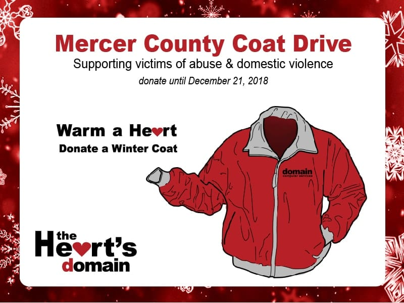 The Heart's Domain: Winter Coat & Outerwear Donations